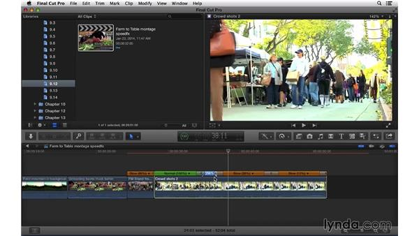 Drawing Lines In Final Cut Pro : Using speed effects to retime clips
