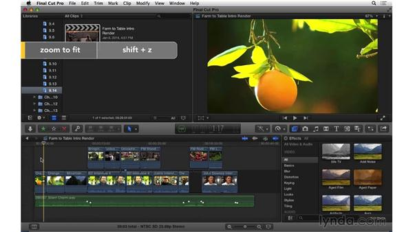 Understanding rendering options and preferences: Final Cut Pro X 10.1.x Essential Training