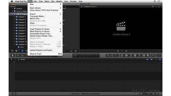 Managing render files: Final Cut Pro X 10.1.x Essential Training