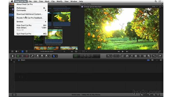 Next steps: Final Cut Pro X 10.1.x Essential Training