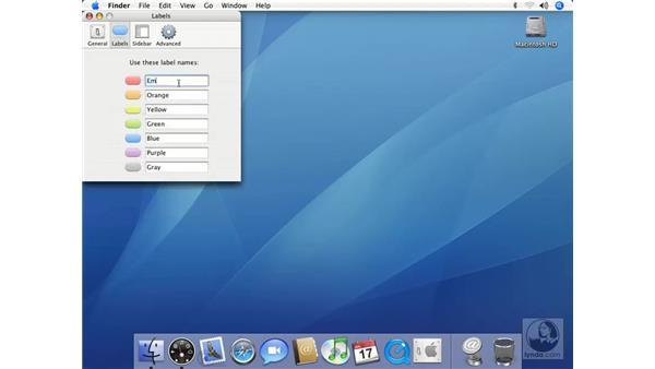 Setting Finder Preferences: Mac OS X 10.4 Tiger Essential Training