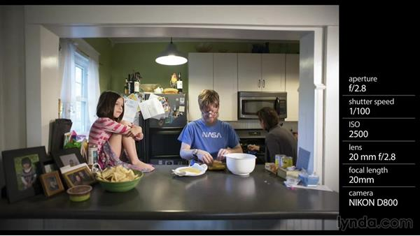 Shooting the prep work for the family dinner: Shooting a Photo Essay: Telling a Family Story