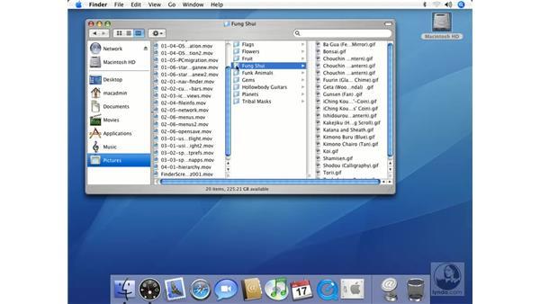 Moving Files: Mac OS X 10.4 Tiger Essential Training