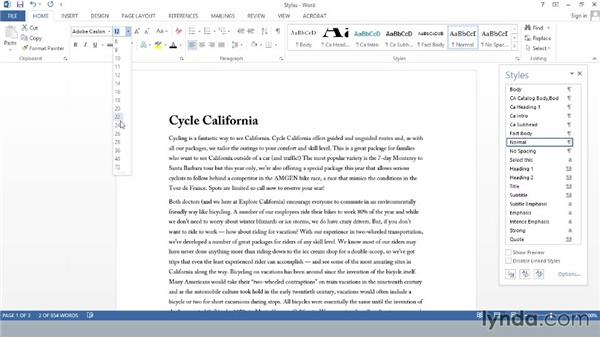Understanding Word styles: Creating Accessible PDFs (2014)