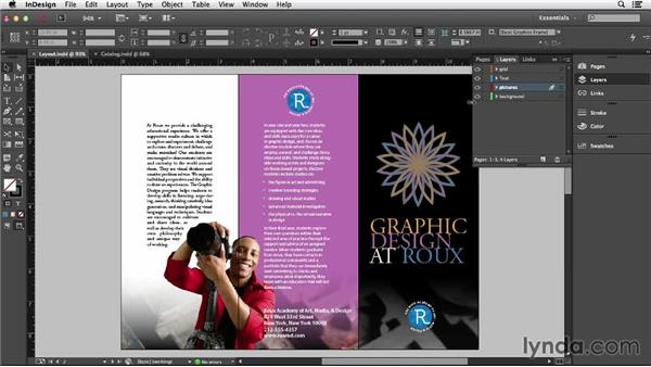 Exploring layout considerations in InDesign: Creating Accessible PDFs (2014)