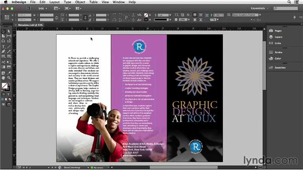 Adding metadata in InDesign: Creating Accessible PDFs (2014)