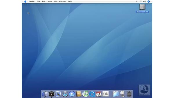 Deeper into the Dock: Mac OS X 10.4 Tiger Essential Training