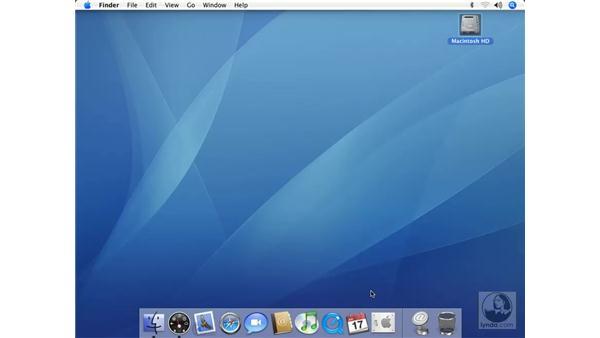 Dock Tricks: Mac OS X 10.4 Tiger Essential Training