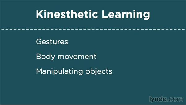 Exploring learning styles: Auditory, kinesthetic, and visual: Foundations of Programming: Programming for Kids