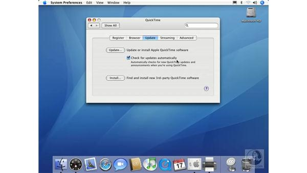 QuickTime: Mac OS X 10.4 Tiger Essential Training