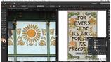 Image for Adding the sunflower motif