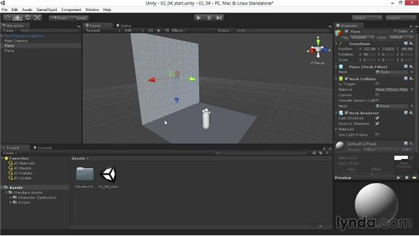 Creating and transforming objects: Unity 4.3 Essential Training