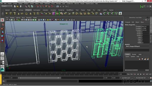 Exporting objects from 3D modeling programs: Unity 4.3 Essential Training