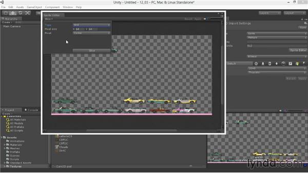 Slicing in the Sprite Editor: Unity 4.3 Essential Training
