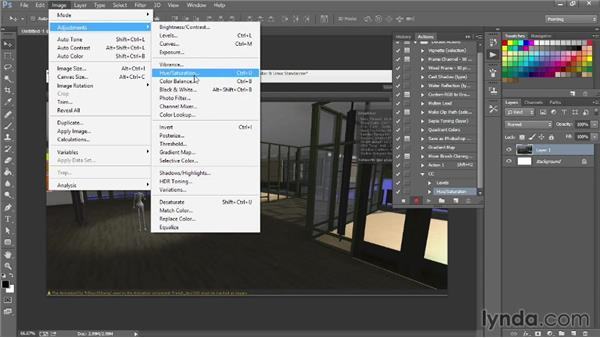 Tuning color for mood: Unity 4.3 Essential Training