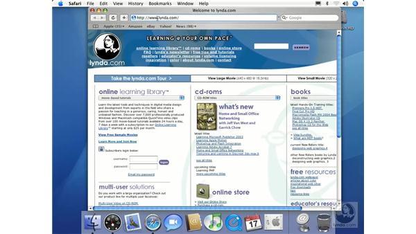 Safari Basics: Mac OS X 10.4 Tiger Essential Training