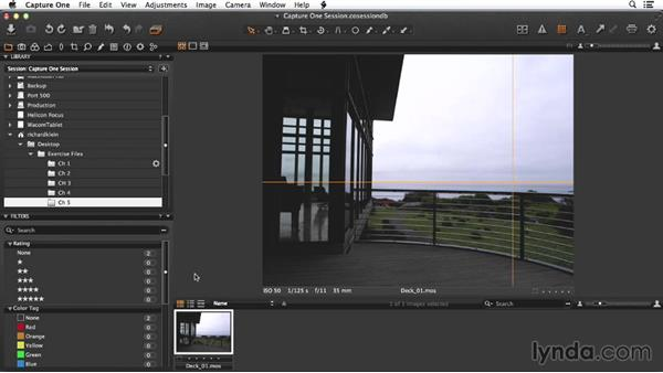 Overview of the deck shot: Enhancing Exterior Architectural Photos