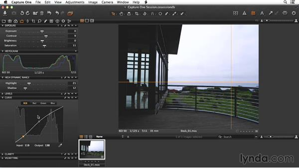 Adjusting the raw deck shot: Enhancing Exterior Architectural Photos