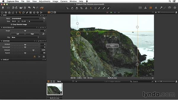Adjusting the raw version of the bluff shot: Enhancing Exterior Architectural Photos