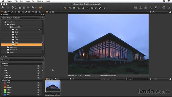 Overview of the exterior shot: Enhancing Exterior Architectural Photos