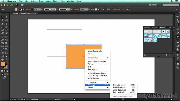 Stacking artwork: UX Design Tools: Illustrator