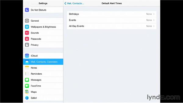 Organizing and syncing events: iPad for Business