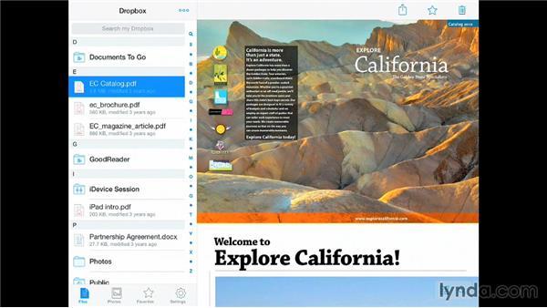 Using Dropbox: iPad for Business