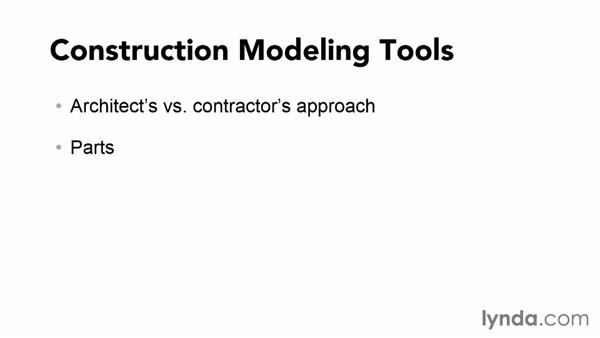 Understanding the approach of this course: Revit Construction Modeling Tools