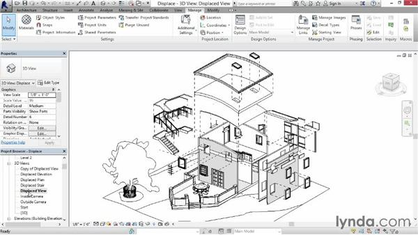 Working with Displace: Revit Construction Modeling Tools