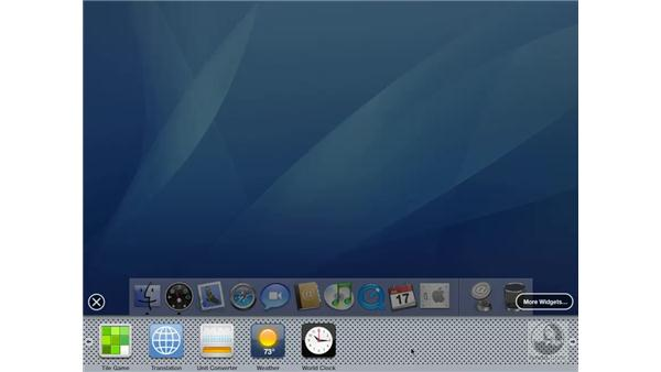 Finding More Widgets: Mac OS X 10.4 Tiger Essential Training