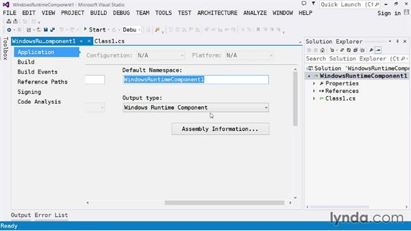 Creating libraries: Visual Studio 2013 for Windows Store Developers