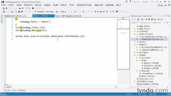 Exploring ASP.NET MVC: Visual Studio 2013 for Web Developers