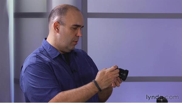 Attaching a lens to the Pocket Cinema Camera: Shooting with Blackmagic Cameras