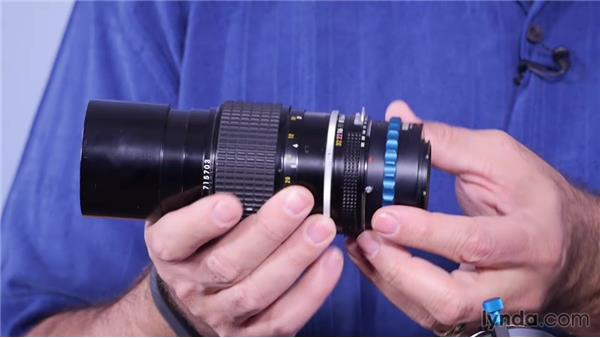 Attaching a lens to the Cinema Camera: Shooting with Blackmagic Cameras
