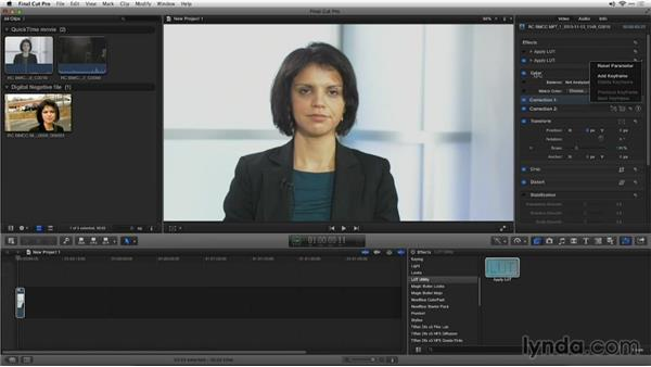 Working with log footage in an NLE: Shooting with Blackmagic Cameras