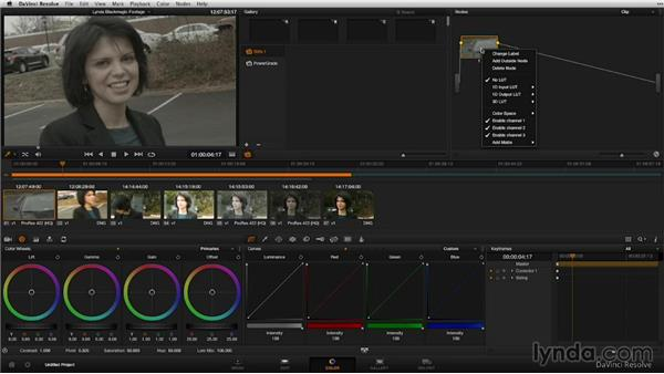 Interpreting raw and log footage in Resolve: Shooting with Blackmagic Cameras