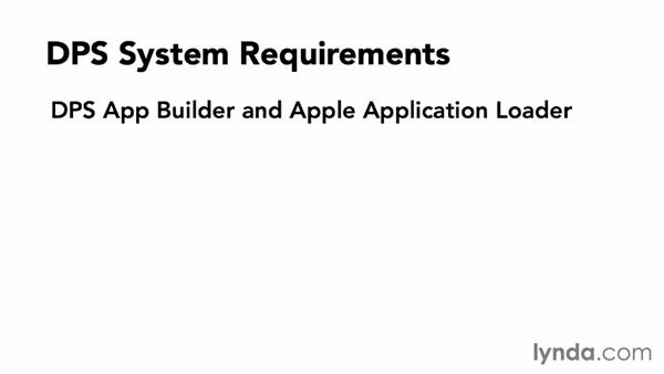 System requirements: Adobe Digital Publishing Suite Essential Training