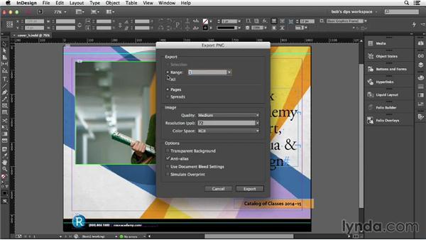 Adding cover images: Adobe Digital Publishing Suite Essential Training