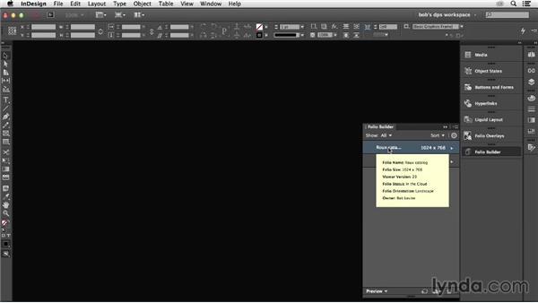 Importing multiple articles: Adobe Digital Publishing Suite Essential Training