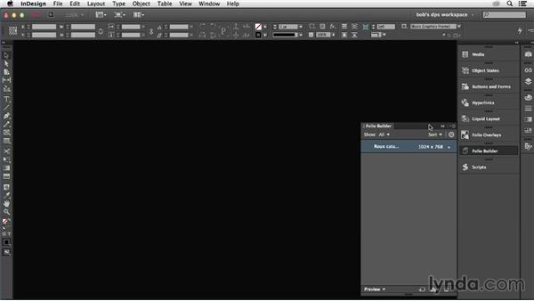 Previewing your work on a device (Mac only): Adobe Digital Publishing Suite Essential Training
