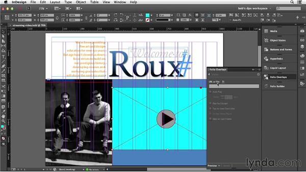Streaming video: Adobe Digital Publishing Suite Essential Training