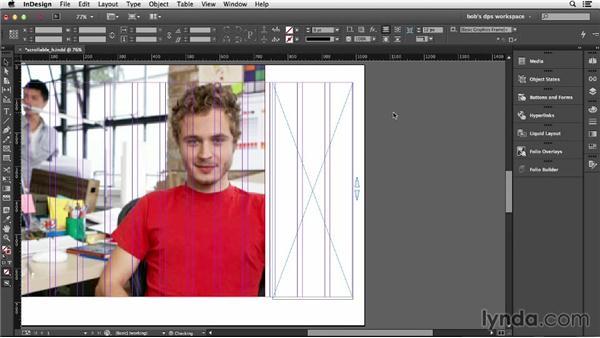 Adding scrolling content: Adobe Digital Publishing Suite Essential Training
