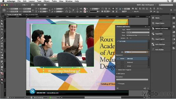 Folio navigation: Jumping to pages and articles: Adobe Digital Publishing Suite Essential Training