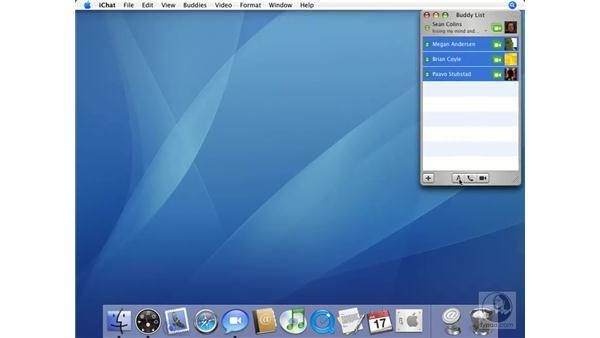Text Chat: Mac OS X 10.4 Tiger Essential Training