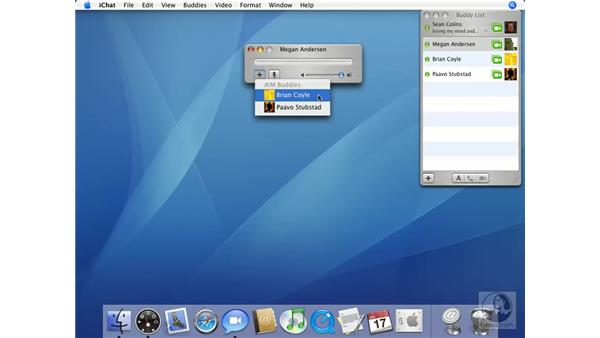 Audio Chat: Mac OS X 10.4 Tiger Essential Training