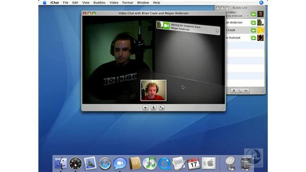 Video Chat: Mac OS X 10.4 Tiger Essential Training