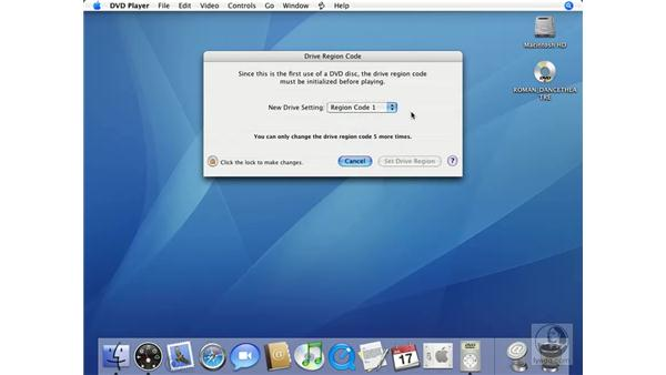 Intro to DVD Player: Mac OS X 10.4 Tiger Essential Training