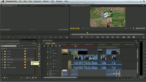 Ways of manipulating the editing environment: Premiere Pro Guru: Customizing Workspaces