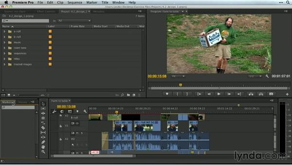 Designing custom workspaces: Premiere Pro Guru: Customizing Workspaces