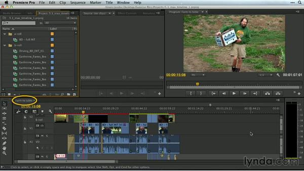 The max timeline workspace: Premiere Pro Guru: Customizing Workspaces